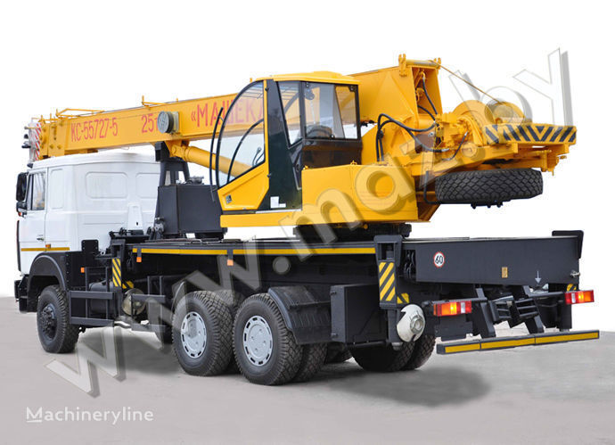 MAZ şaside KS 3579-2, 4 vinçli kamyon