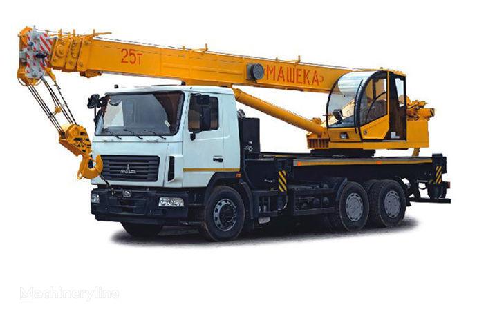 MAZ KS-55727-A, B vinçli kamyon