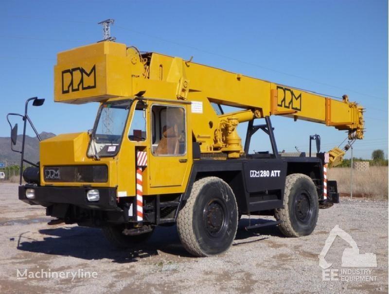 PPM 280 ATT vinçli kamyon