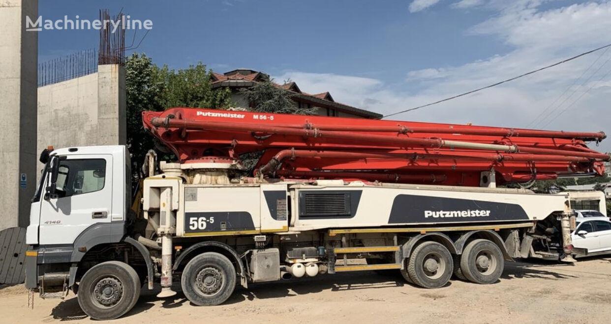 MERCEDES-BENZ şaside Putzmeister  beton pompası