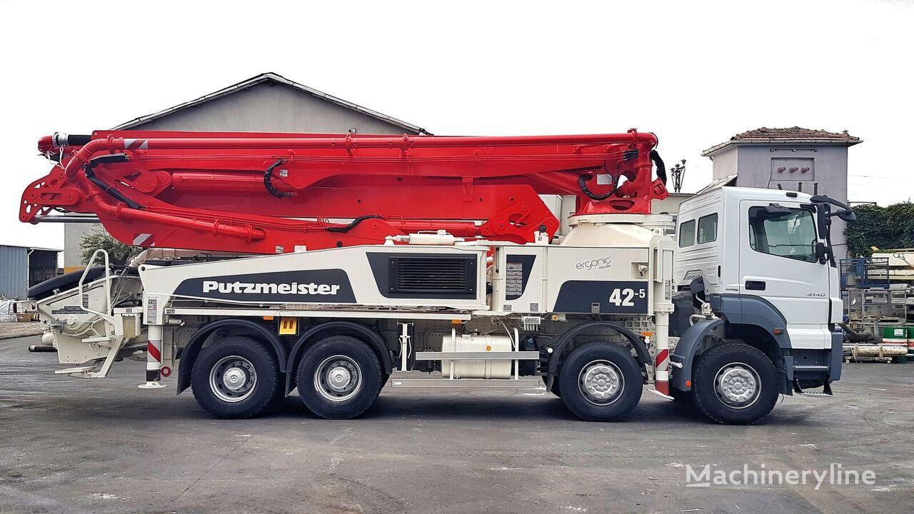 MERCEDES-BENZ Axor 4140 8x4 - 2014 Putzmeister 42-5 şaside Putzmeister BSF 42-5.16H beton pompası