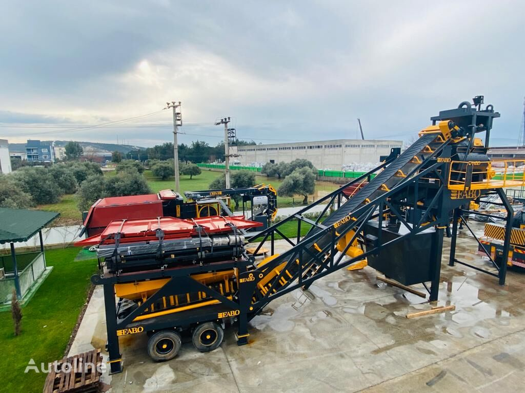 FABO 100m3/h USED CONCRETE PLANT | 6 MONTHS WARRANTY beton santrali