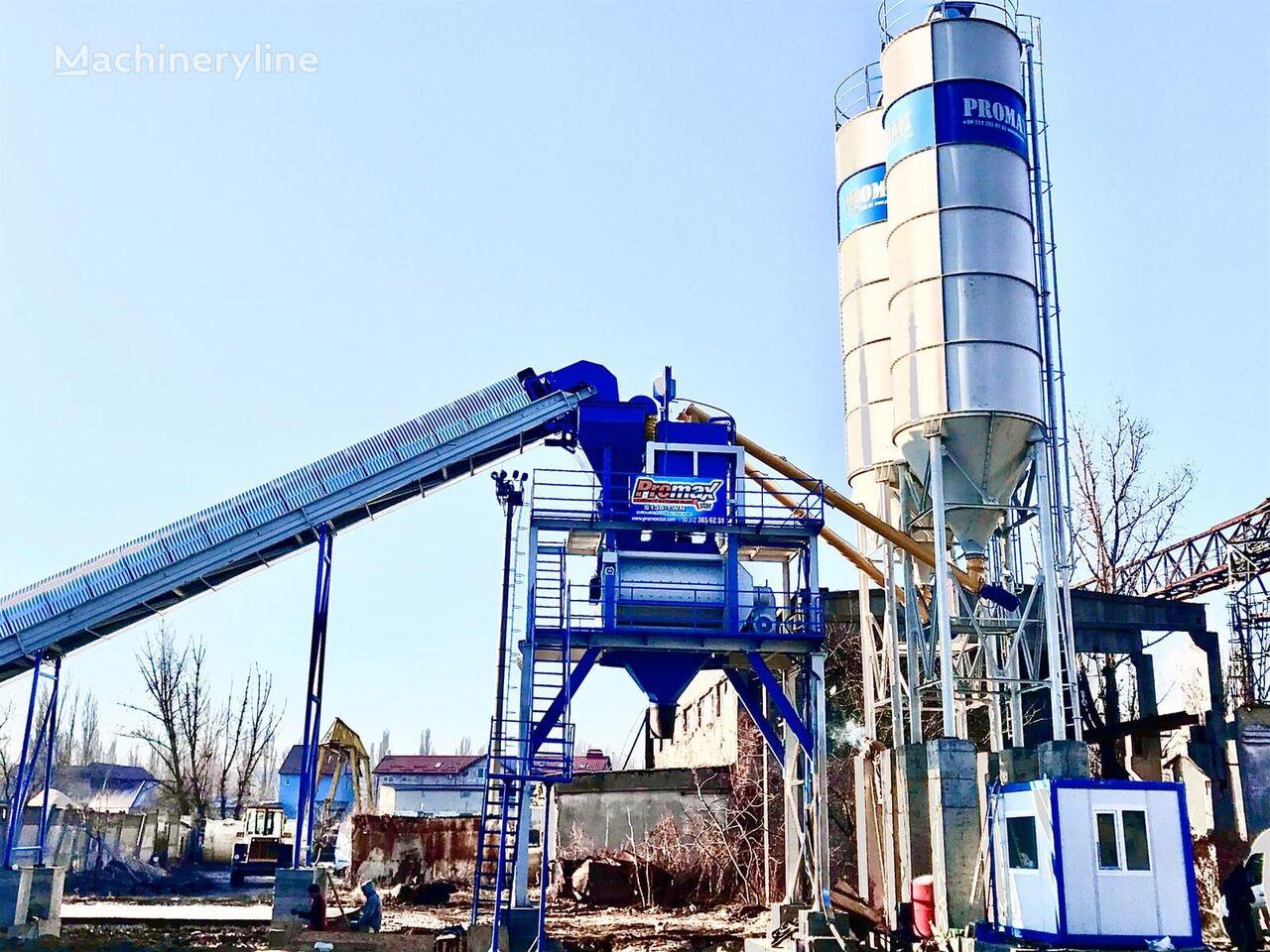 yeni PROMAX STATIONARY Concrete Batching Plant PROMAX S130-TWN (130m/h) beton santrali