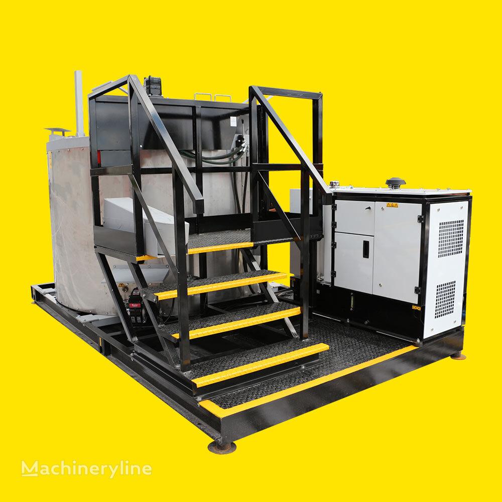 STiM Vulkan 3000 - machine of heating and melting thermoplastic işaretleme makinesi