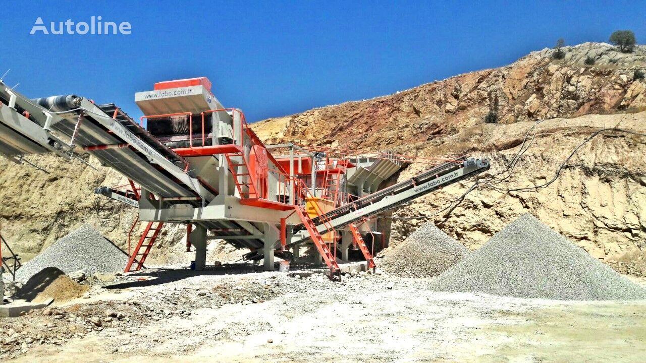 yeni FABO PRO-180 MOBILE CRUSHING & SCREENING PLANT   BIGGEST CAPACITY taş kırma tesisi