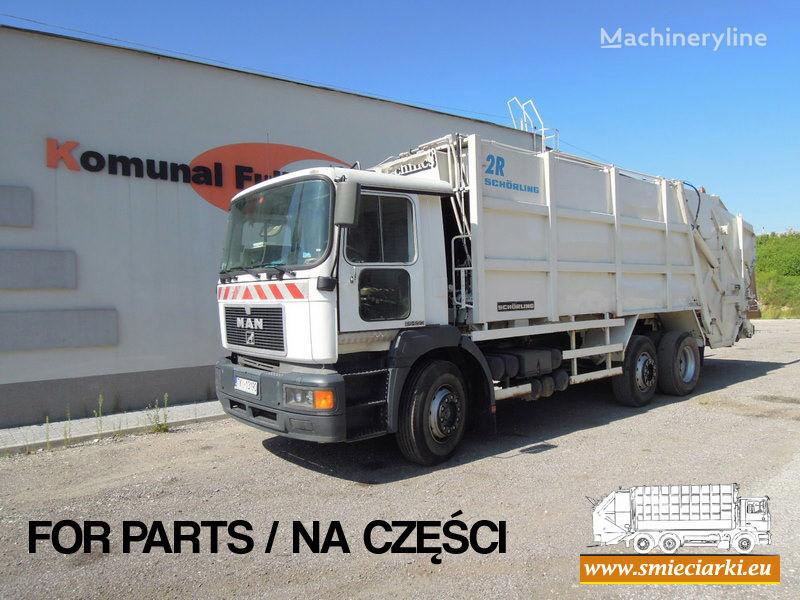 MAN 26-293 çöp arabası