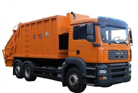 MAN KO-427-46  çöp arabası