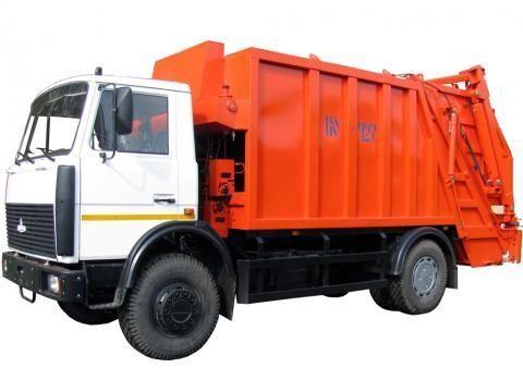 MAZ KO-427-34  çöp arabası