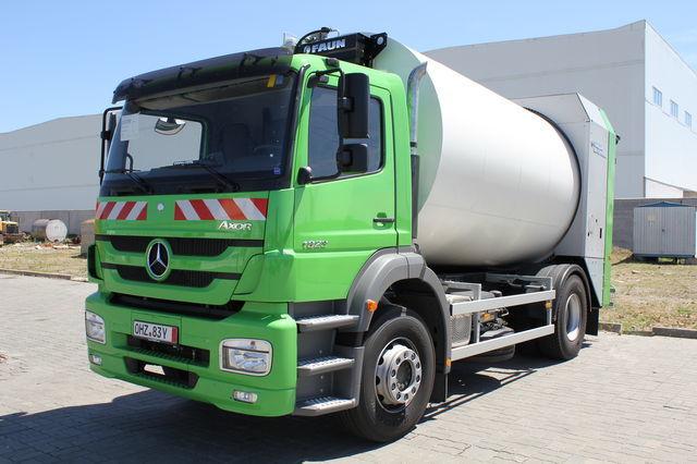 yeni VARZ-MV-1823-16 çöp arabası