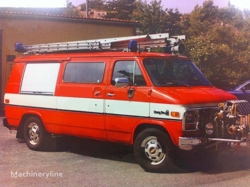 Chevrolet Van G-30 itfaiye aracı