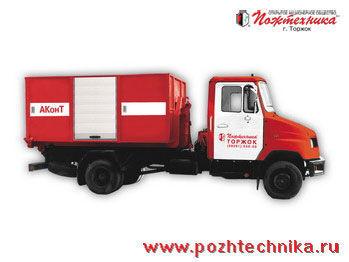 ZIL AKonT Avtomobil konteynernogo tipa    itfaiye aracı