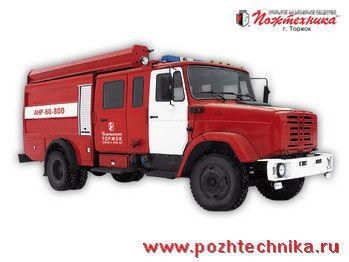 ZIL ANR-60-800 Avtomobil nasosno-rukavnyy  itfaiye aracı