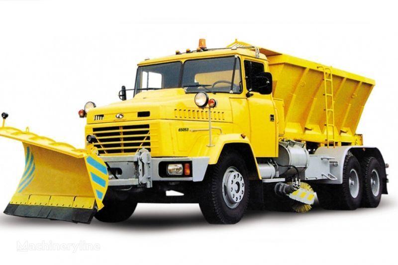KRAZ 65053 KDM-1522/1521 kar temizleme makinası