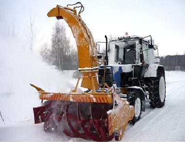 yeni MTZ OFR 200 kar temizleme makinası