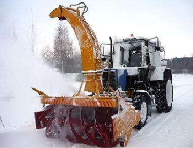 yeni MTZ OFR- 200  kar temizleme makinası