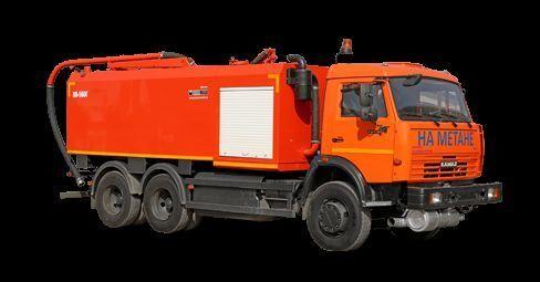KAMAZ KO-560G kombine kanal temizleme aracı