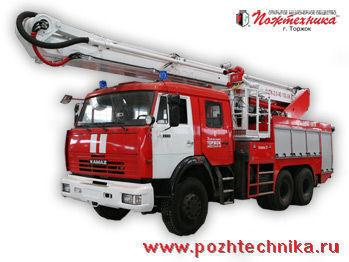 KAMAZ ACPK-2,0-40/100-24     merdivenli itfaiye arabası