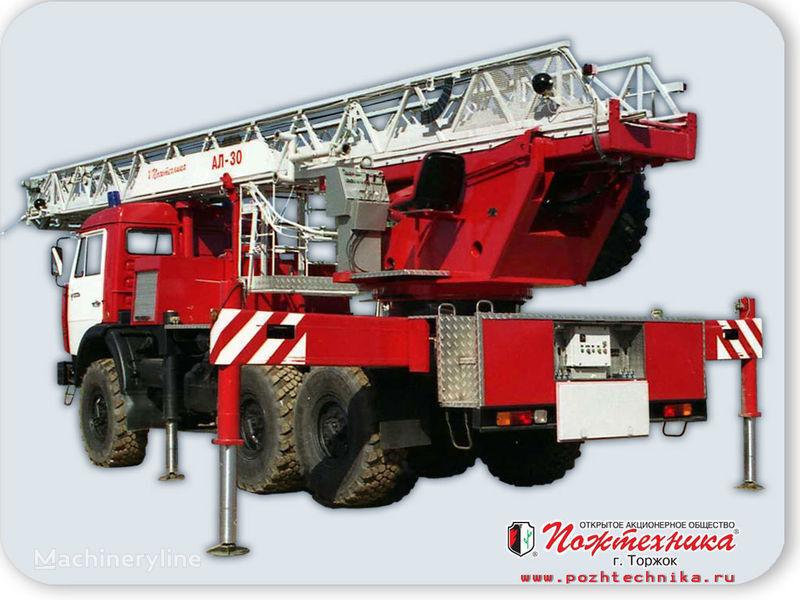 KAMAZ AL-30 merdivenli itfaiye aracı