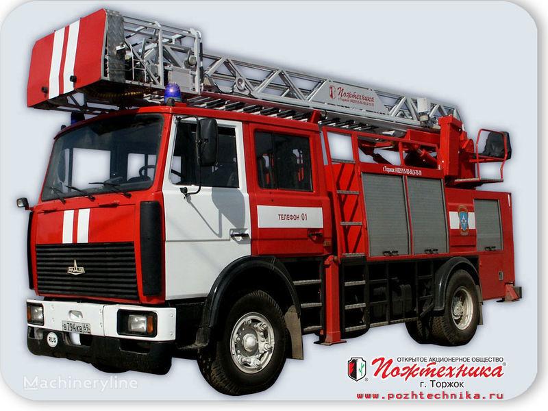 MAZ APS(L)-1,25-0,8 Avtomobil pozharno-spasatelnyy s lestnicey merdivenli itfaiye aracı