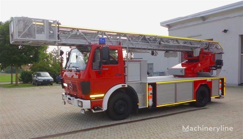 MERCEDES-BENZ F20126-Metz DLK 23-12 - Fire truck - Turntable ladder  merdivenli itfaiye aracı