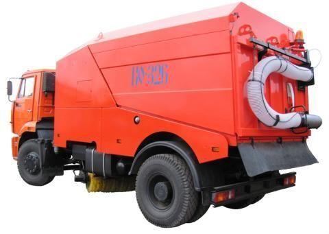 KAMAZ KO-326-02  temizleme makinesi