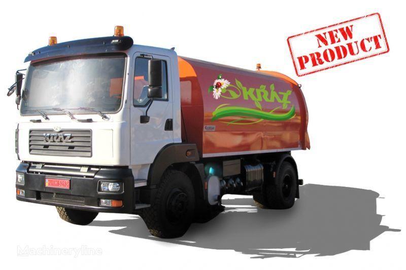 KRAZ 5401K2-020 Vakuumnyy podmetalno-uborochnyy avtomobil  temizleme makinesi