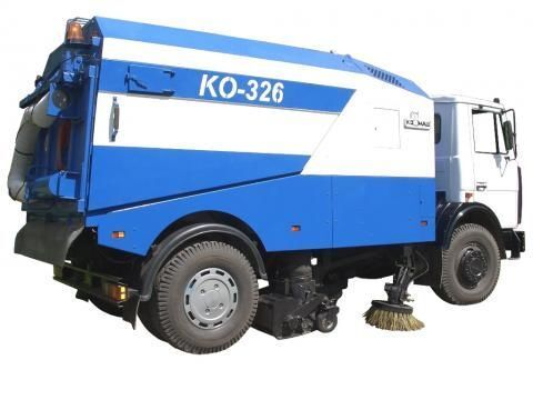 MAZ KO-326 temizleme makinesi
