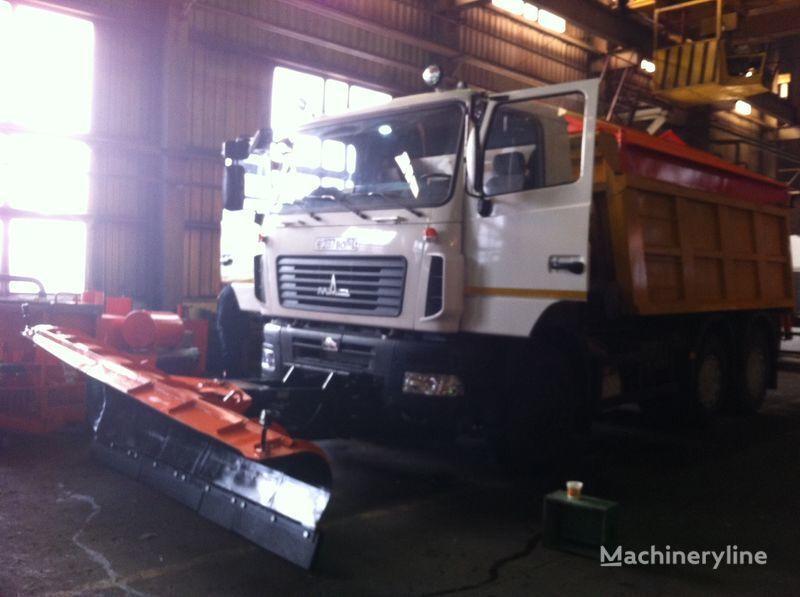 yeni KAMAZ MKDS 3 tuzlama kamyonu
