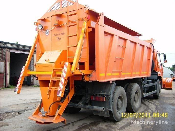yeni KAMAZ MKDS 9 tuzlama kamyonu