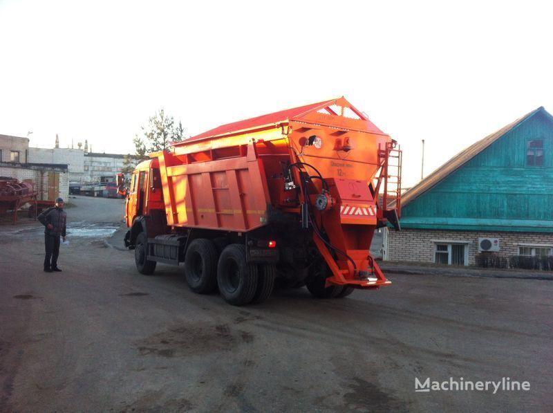 yeni URAL MKDS 3 tuzlama kamyonu