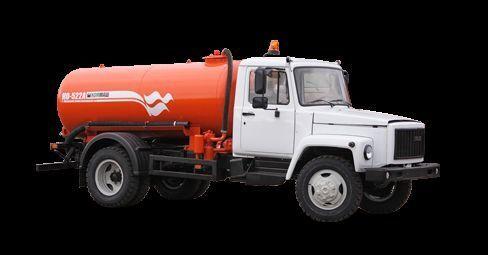 GAZ Vakuumnaya mashina KO-522B vidanjör