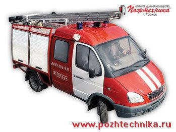 GAZ APP-0,5-2,0 Avtomobil pervoy pomoshchi     yangın tankeri kamyonu