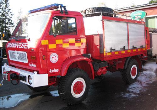 MAN 8.150, 4x4 WD yangın tankeri kamyonu