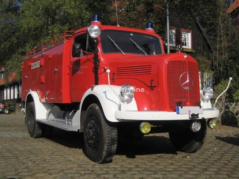 MERCEDES-BENZ LAF 311 Oldtimer yangın tankeri kamyonu