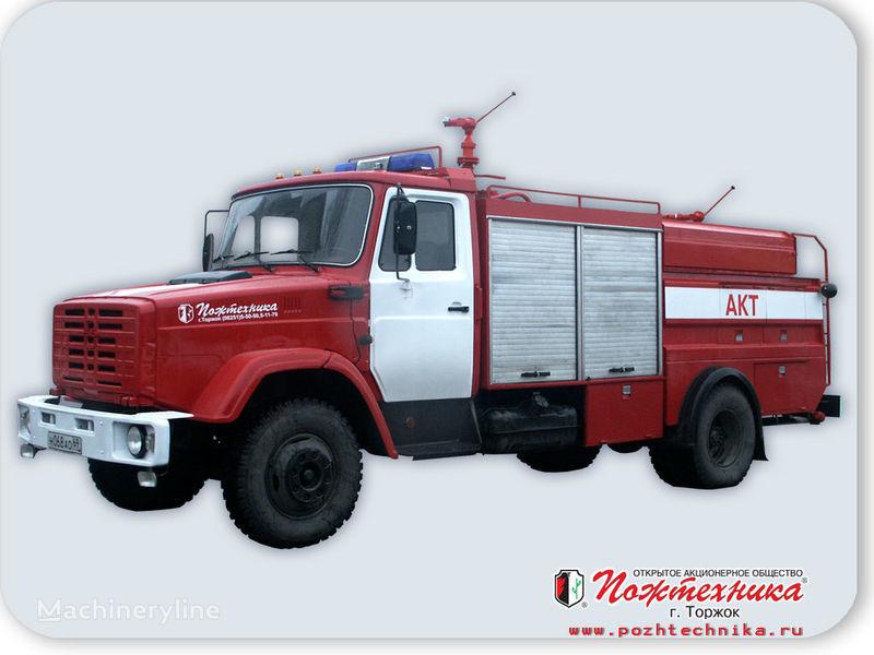 ZIL AKT-1,0/1000-40/40 Avtomobil kombinirovannogo tusheniya    yangın tankeri kamyonu