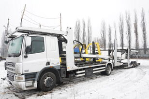 DAF CF 75 360 , E5 , 4x2 ,MEGA , LOHR , retarder , sleep cab  araba taşıyıcı + araba taşıyıcı römork