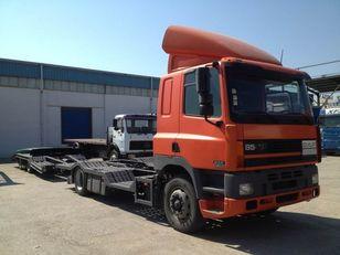 DAF CF85.380 ATI EURO2 TRUCK / TRACTOR TRANSPORT + TANDEM araba taşıyıcı + araba taşıyıcı römork