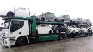 IVECO STRALIS 450 araba taşıyıcı + araba taşıyıcı römork