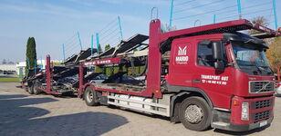 VOLVO FM 400  araba taşıyıcı + araba taşıyıcı römork
