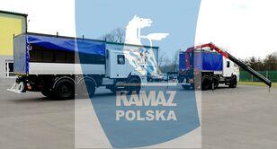 yeni KAMAZ 6x6 SERWISOWO-WARSZTATOWY askeri kamyon