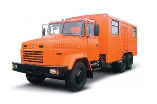 yeni KRAZ 65053 мастерская  askeri kamyon
