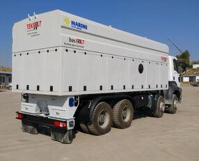 yeni TEKFALT basFALT Binding Agent Spreader askeri kamyon