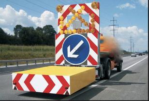 MERCEDES-BENZ tampon signalisation routière  çekici kamyon