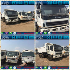 ISUZU CXZ81K damperli kamyon