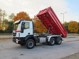 IVECO TRAKKER 6x4, MILLER KIPPER damperli kamyon