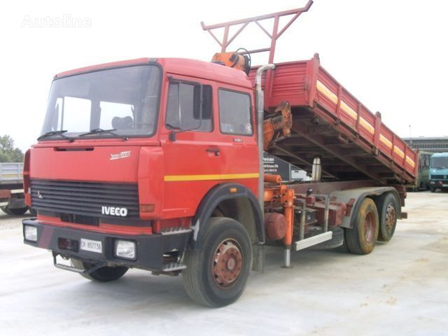 IVECO 190.35 damperli kamyon