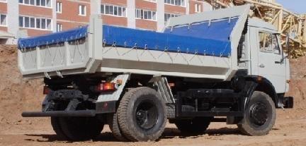 yeni KAMAZ 43255 damperli kamyon