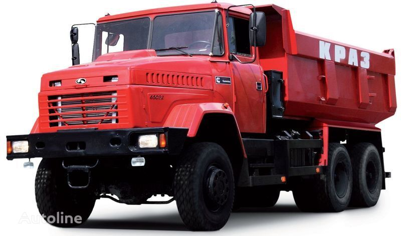 yeni KRAZ 65032 damperli kamyon
