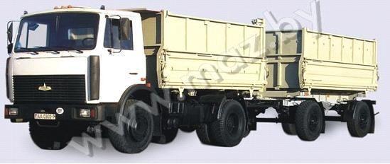 yeni MAZ 5551 (A2, 47 ) damperli kamyon
