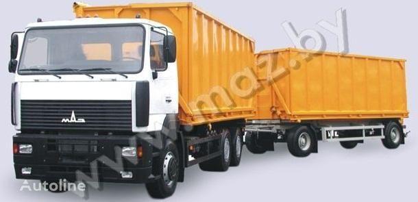 yeni MAZ 6501A5 avtopoezd damperli kamyon